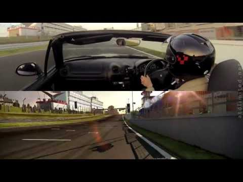 atdlimited - A lap of the Indy circuit at Brands Hatch in a Mazda MX-5 Comparison with Need for Speed Shift 2 Unleashed.