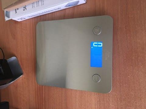 Recensione Smart Weigh Bilancia da cucina multifunzione in acciaio Amazon