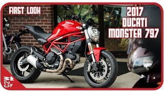 1. 2017 Ducati Monster 797 | First Look