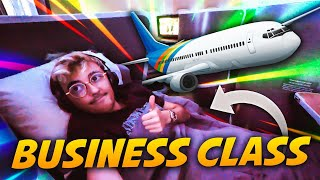 LA BUSINESS CLASS DI AMERICAN AIRLINES - Viaggio verso Miami