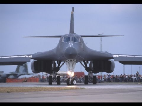 Rockwell B-1 Lancer at Mildenhall