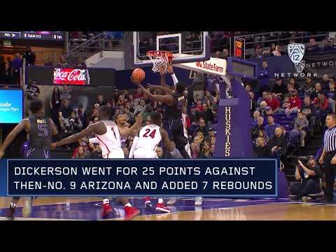 Men's Basketball: Noah Dickerson garners Pac-12 Men's Basketball Player of the Week award