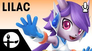 Lilac Smashified – Time Lapse Painting (Commentary w/ Omni, Chris, Thanael)