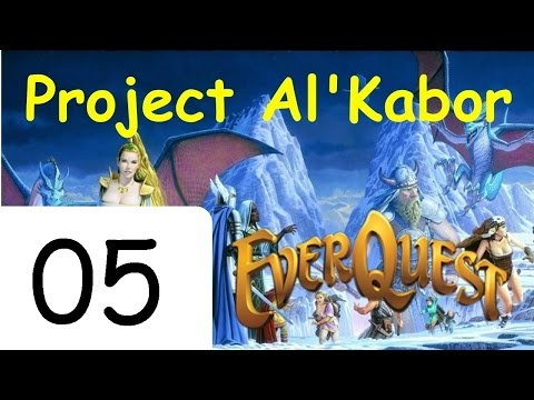 Let's Play Everquest (The Al'Kabor Project) Episode 5: Velketor's Labyrinth
