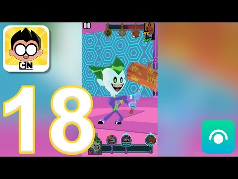 Teeny Titans - Gameplay Walkthrough Part 18 - All Figures Collected, Side Missions Completed (iOS)