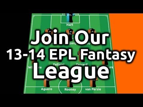 Join our Premier League Fantasy Football Private League!