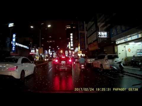 新竹市東區中華路二段摔車