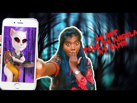 Do Not Talk to Angela at 3 AM Challenge | Ghost Challenge Tamil