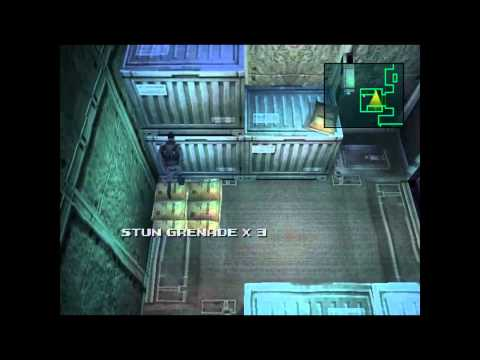 Metal Gear Solid - PS1 - EPSXe 1.7.0 - Gameplay