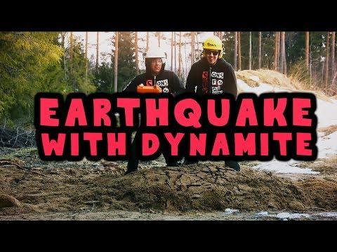 Suomalaiset vauhdissa – Maanjäristys dynamiitilla