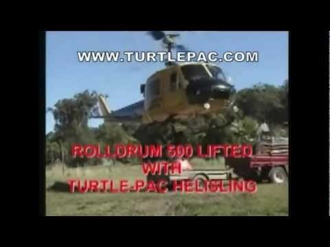 Fuel Bladder Tank Helicopter Drop by Turtle-Pac