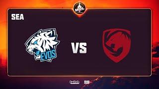 EVOS vs Tigers, MDL Disneyland® Paris Major SEA QL, bo3, game 1 [CrystalMay]