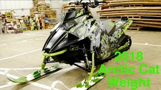 2. 2018 Arctic Cat M8000 Weight!