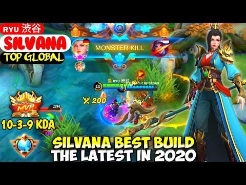 SILVANA BEST BUILD IN 2020   TOP GLOBAL SILVANA ʀʏυ 渋谷 - MOBILE LEGENDS