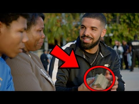 THIS IS WHY PEOPLE HATE DRAKE... (W/ God's Plan, Diplomatic Immunity & Look Alive) (видео)