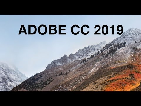 Adobe CC 2019 - How To Install Multiple Versions or Downgrade to CC 2018 (Mac OS)