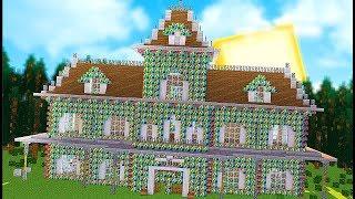 Rainbow Lucky Block House Battles - Minecraft Modded Minigames