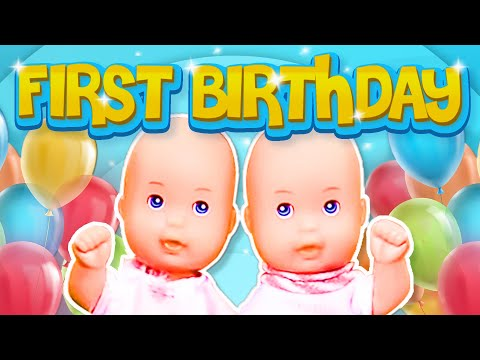 Barbie - The Twin's First Birthday | Ep.47