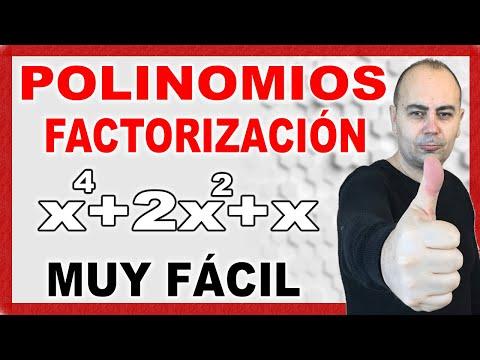 Factorización de polinomios. Teoría. Explicación práctica con ejemplo.