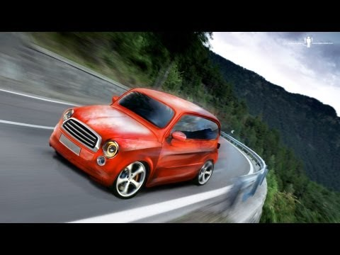 Speed Art Adobe Photoshop – Extreme car repair and tuning
