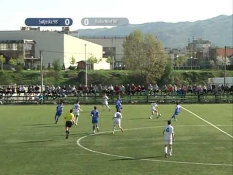 Finale kupa srednje regije za pionire, Sutjeska Buducnost