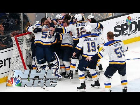 NHL Stanley Cup Final 2019 Blues vs. Bruins  Game 7 Extended Highlights  NBC Sports