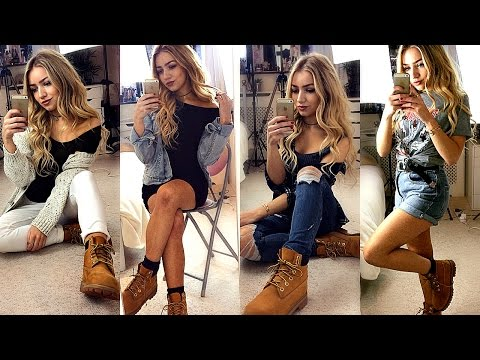 HOW TO STYLE TIMBERLAND BOOTS / OUTFIT IDEAS