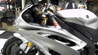10. 2008 Yamaha YZF-R6 Silver - used motorcycle for sale - Eden Praire, MN