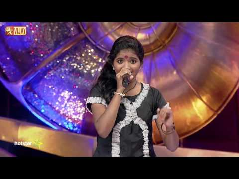 Super Singer Junior - Pandiyan Naan Irukka by Gowri