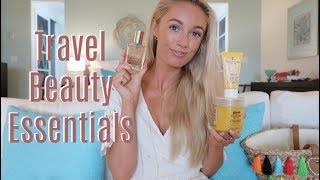 MY TOP TEN BEAUTY ESSENTIALS! Here are my must have beauty essentials for when travelling this summer, filmed in beautiful Antigua. These come with me on every trip and I couldn't be without them! Subscribe so you don't miss any videos :) http://bit.ly/1zG3soB________________________________________­___________________ ❤ What I Wore ❤White beach dress - http://bit.ly/2tp2nUiEarrings : http://bit.ly/2mx2QiHNecklace : http://bit.ly/2mx7AVuRing : http://bit.ly/2i7GCSCBracelet : http://bit.ly/2mx9K7j________________________________________­___________________ ❤ Featured in this Video ❤P20 SPF - http://shopstyle.it/l/bXxmPiz Buin SPF instant glow - http://shopstyle.it/l/bXxrLa Roche Posay SPF face mist - http://shopstyle.it/l/bXvgElizabeth Arden Eight hour moisturiser - http://shopstyle.it/l/bXxyBondi Sands Self Tan - http://shopstyle.it/l/bXxB Garnier Self Tan Mist - http://shopstyle.it/l/bXxD BEING By Sanctuary Body Scrub - http://bit.ly/2toNY7Q Soap & Glory Exfoliating gloves - http://shopstyle.it/l/bXvn Garnier Ultimate Blends 3 in 1 Mask - http://shopstyle.it/l/bXxN WET Hairbrush - http://shopstyle.it/l/bXxP Invisibobble clear -  http://shopstyle.it/l/bXyEInvisibobble pink - http://shopstyle.it/l/bXxX Sonic Chic Toothbrush - http://shopstyle.it/l/bXyG Venus Snap - http://shopstyle.it/l/bXx3 Avon Skin So Soft Dry Oil - http://avon4.me/2sFiX2k Estée Lauder Bronze Goddess oil - http://shopstyle.it/l/bXyk ________________________________________­___________________ WHERE ELSE TO FIND ME!❤ Blog // http://www.fashionmumblr.com❤ Instagram // https://instagram.com/josieldn/❤ Twitter // https://twitter.com/FashionMumblr❤ Bloglovin // http://bit.ly/1QgW457❤ Facebook // https://www.facebook.com/fashionmumblr❤ Snapchat // JosieLDN________________________________________­___________________ ❤ Get in touch with me here: http://bit.ly/1QCe5xe❤ Filming & Photography Information : http://bit.ly/1K3yPxa________________________________________­___________________ ❤  In the Background:Pink Rug : http://bit.ly/2pW9mP7________________________________________­___________________ Popular Blog Posts:❤ FAQs ft How to Start a Blog : http://bit.ly/2eowZPH❤ Life as a full time blogger / YouTuber : goo.gl/Y1ceLq❤ Why Every Twenty-Something should Practise Mindfulness : http://bit.ly/2eLr6I6________________________________________­___________________NB : The links above are likely to be affiliate links, which means if I have inspired you to make a purchase and you choose to buy something through one of these links, I may receive a small commission on the sale, as a way of thanks! It makes no difference to you as a buyer at all but I may receive a small compensation from the brand via rewardStyle. If you'd like to find out more, you may like to read this post : http://bit.ly/2rjaGPU xoxo