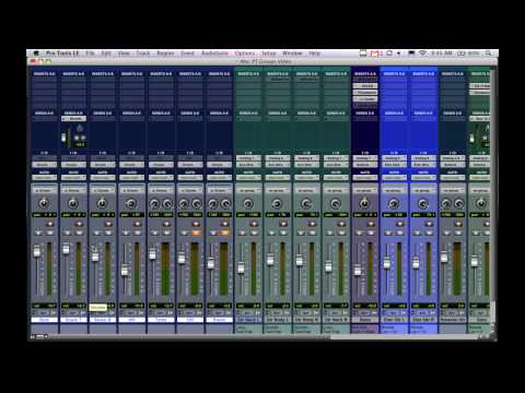 Using Groups in Pro Tools
