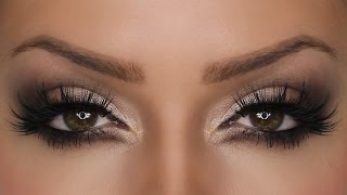 Shimmering Sultry Eye MakeUp For Valentines Day