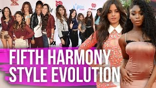 Fifth Harmony's STUNNING STYLE EVOLUTION (Dirty Laundry) by Clevver Style