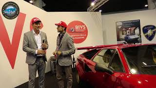 Viaggio in spider at Cars and motor bike Padua exhibition 26-29 october 2017