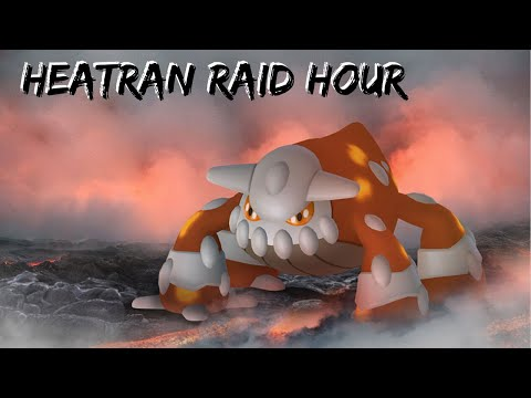 First video of 2020! HEATRAN RAID HOUR Shiny HUNT! I can't believe this happened!