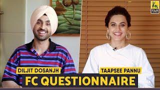 Video Diljit Dosanjh | Taapsee Pannu | Soorma | FC Questionnaire | MP3, 3GP, MP4, WEBM, AVI, FLV Juni 2018