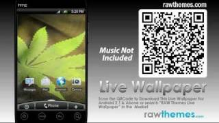Marijuana Live Wallpaper YouTube video
