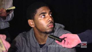 Kyrie Irving Draft Combine Interview