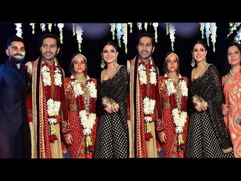 Varun Dhawan & Natasha Dalal's Grand Entry at their Wedding Ceremony with Bollywood Actors & Family