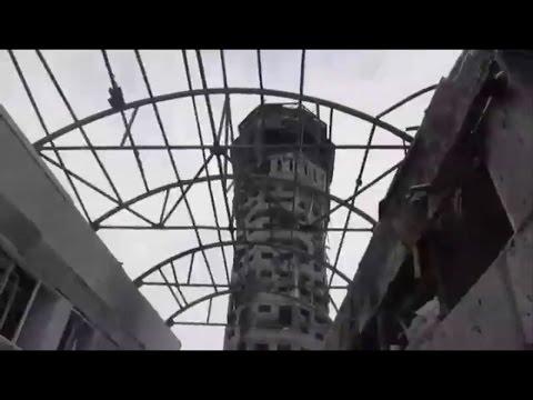 10.01.2015 Донецк Аирпорт. Траффик контрол товер.