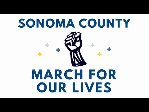 March For Our Lives Sonoma County 2018