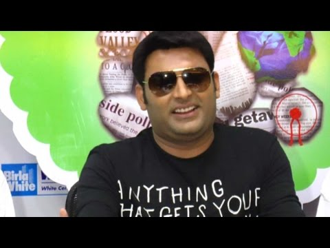 Kapil Sharma's Nervousness While Romancing His Co-