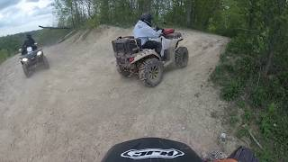 7. Outlaw trails WV on the Polaris sportsman 850 sp