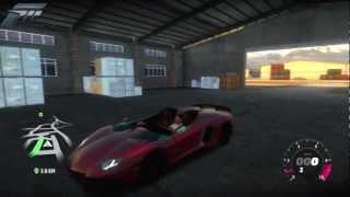 Forza Horizon - 2012 Lamborghini Aventador J - Auto Show And Test Drive