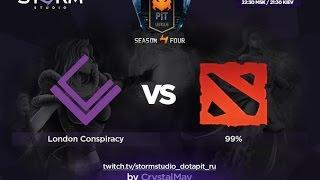 99% vs London, game 2