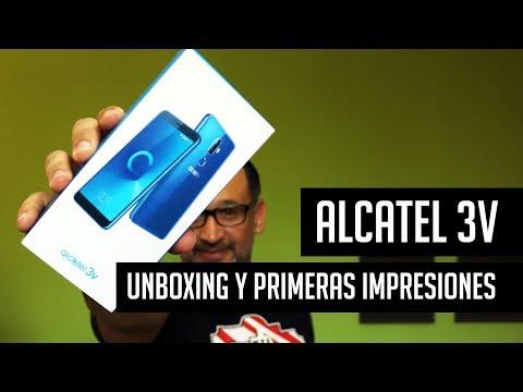 Alcatel 3V: Unboxing y primeras impresiones en español