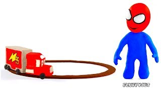 Video Cars Lightning McQueen Mack Truck ★ Play Doh Stop Motion video ★ Disney cars toys & baby kids song MP3, 3GP, MP4, WEBM, AVI, FLV Maret 2018