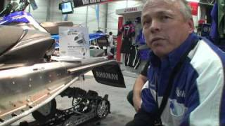6. Yamaha 2010 Nytro snowmobile review - Avalanche Promotion