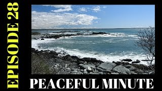Peaceful Minute ~ Episode 28 ~ Rocky Shore ~  Sachuest Point Rhode Island Welcome to my Peaceful Minutes Series.I will be posting 1 minute videos of peaceful moments that I see in Nature.We all can use 1 minute of peace in our busy lives.I'm planning on posting a new video to this series every Friday for a year. (Started December 2, 2016) That's my goal.ENJOY!!********************************************************************Please Subscribe, Like, Comment and Share:You Tube:http://www.youtube.com/user/NaturesFairyMy second Channel: BikingAway:https://www.youtube.com/channel/UCfgD...You can find me on:Facebook Gluten Free Page:https://www.facebook.com/SharingGlute...My Blog for all my Gluten Free and some Low Carb Recipes:http://sharingglutenfreerecipes.blogs...Instagram:http://instagram.com/sharingglutenfre...Pinterest:http://www.pinterest.com/naturesfairy/Twitter:https://twitter.com/NaturesFairyGoggle+:https://plus.google.com/u/0/104572512...Tumblr:http://sharingglutenfreerecipes.tumbl...Thanks for watching,Peace ~ Love and JoyAlways be humble ~ Always be kindBrenda ~ NaturesFairy********************************************************************Video recorded on May 9, 2017Sachuest Point Wildlife SanctuaryMiddletown Rhode Island********************************************************************MUSIC CREDIT:Soaring Kevin MacLeod (incompetech.com)Licensed under Creative Commons: By Attribution 3.0 Licensehttp://creativecommons.org/licenses/by/3.0/********************************************************************Peaceful MinutePeaceful Minute Episode 28Peaceful Minute SeriesPeaceful Minute in NaturePeaceful Relaxing MinuteChill out in NatureTimeout in NatureNature MeditationAway from the Hustle and BustleMoments of PeacePeaceful MomentsPeaceful Moments in NatureOne Minute in NatureOne Minute of PeaceOne Minute RelaxationSpend time in NaturePeaceWeekly SeriesSpend time outdoorsSpend time outside60 SecondsTake one minuteJune 9, 2017Relax for a minuteFriday Momen