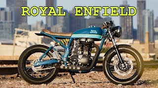 7. ROYAL ENFIELD cafe racer 2014 Royal Enfield Continental GT